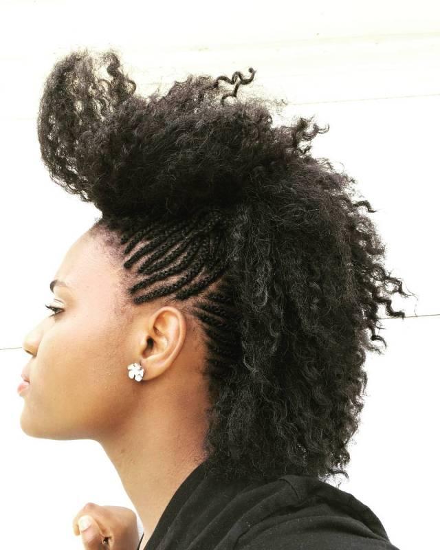 mohawk braids: 12 braided mohawk hairstyles that get attention