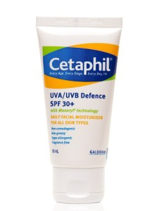 Cetaphil UVA/UVB Sunscreen SPF30+