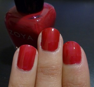 Zoya Burke - one coat with top coat