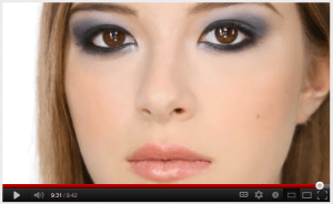 Lisa Eldridge Navy Smokey Eye Look