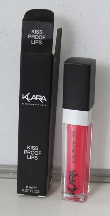 Klara Cosmetics Kiss Proof Lips