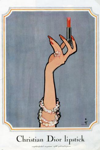 Illustrazione di Rene Gruau degli anni'50