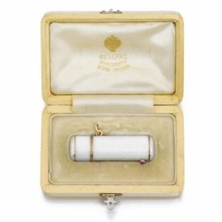 Porta rossetto Fabergé del 1910