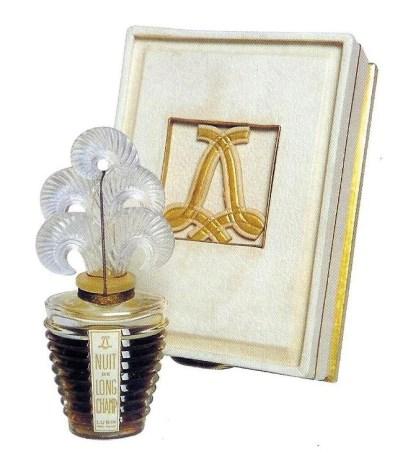 Flacone originale del profumo Nuit de Longchamp del 1934