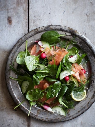 beauty-routine-David-Blumenfeld-salad