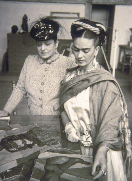 Helena Rubinstein e Frida Khalo