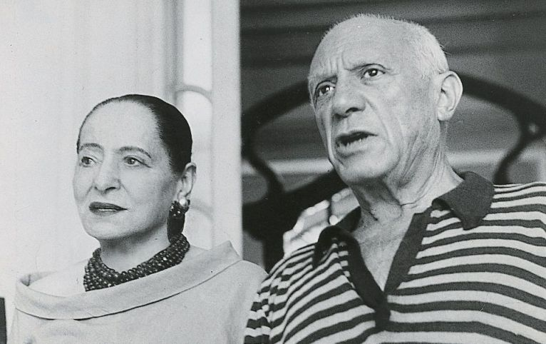 Helena Rubinstein e Pablo Picasso