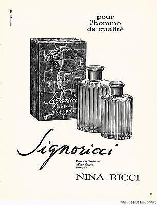 romano-ricci-1966-Vintage-Nina-Ricci-Signoricci-Cologne-French-Magazine