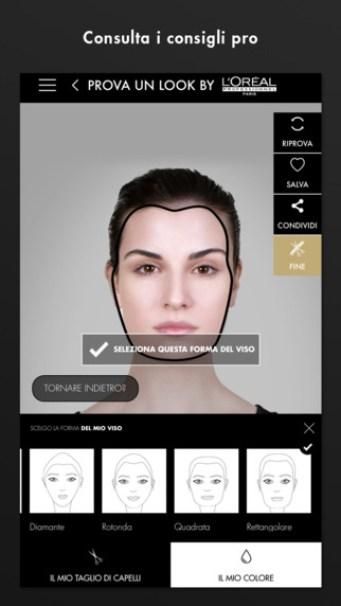 Una App firmata L Oréal Professionnel per scegliere il giusto taglio e  colore dei capelli senza passi falsi 7931ef7da7c1