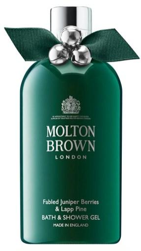 Regali-di-Natale 2017-per-lui-da -12 a-25-euroMOLTON-BROWN--Fabled-Juniper-Berries--Lapp-Pine-Shower-Gel-300-ml