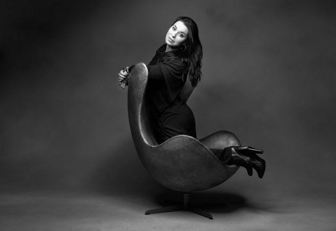 Annalisa Betti fotografata da Maki Galimberti