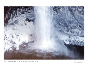 16X20 Snoqualmie Falls Poster