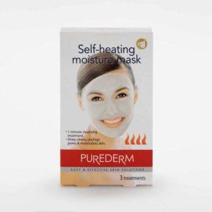 """Самонагревающаяся увлажняющая маска """"Purederm"""", 3 шт"""