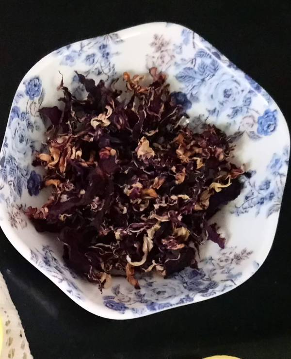 Sun Dried Purple Cabbage