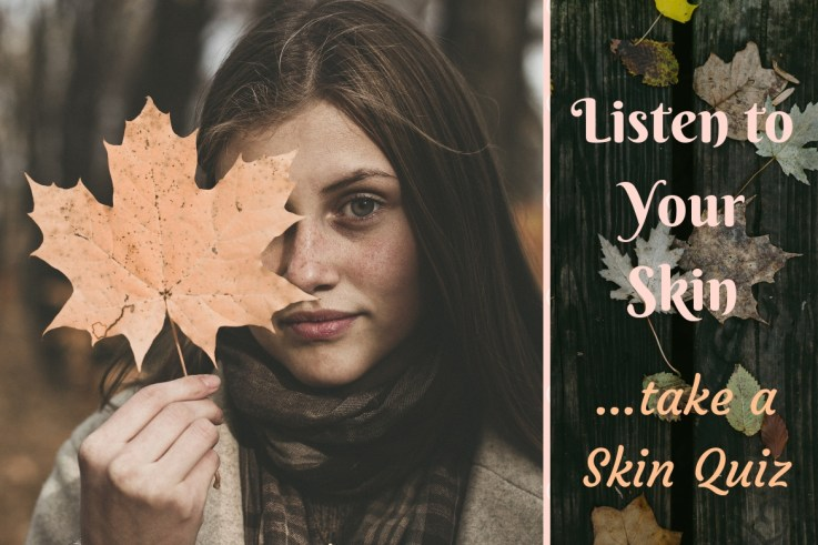 Listen to your skin with skin quiz. The Mind-skin connection.