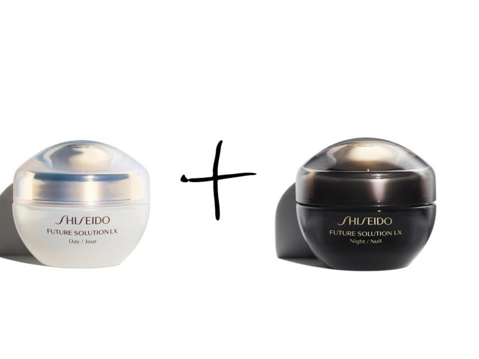 Дневен и нощен крем Future Solution LX на Shiseido