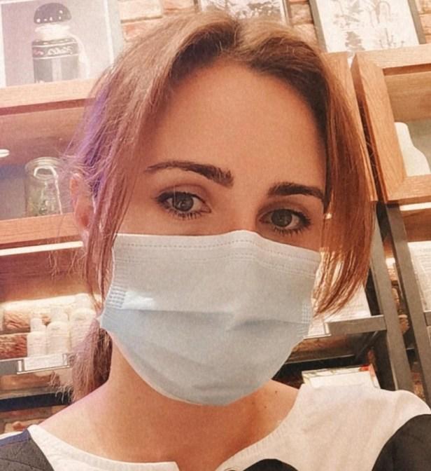 Страх, коронавирус, маска
