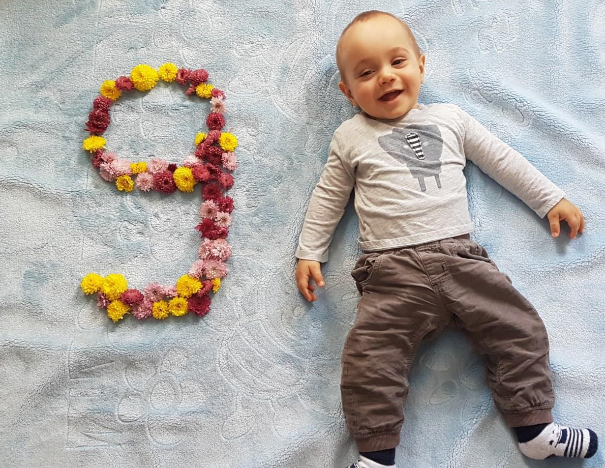 Бебе Виктор на 9 месеца