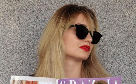 Велина Василева със смарт очила Huawei x Gentle Monster