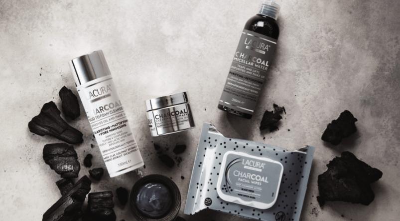Lacura Charcoal Spa Skincare Range