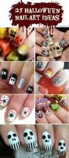25 Spooky And Simple Halloween Nail Art Ideas