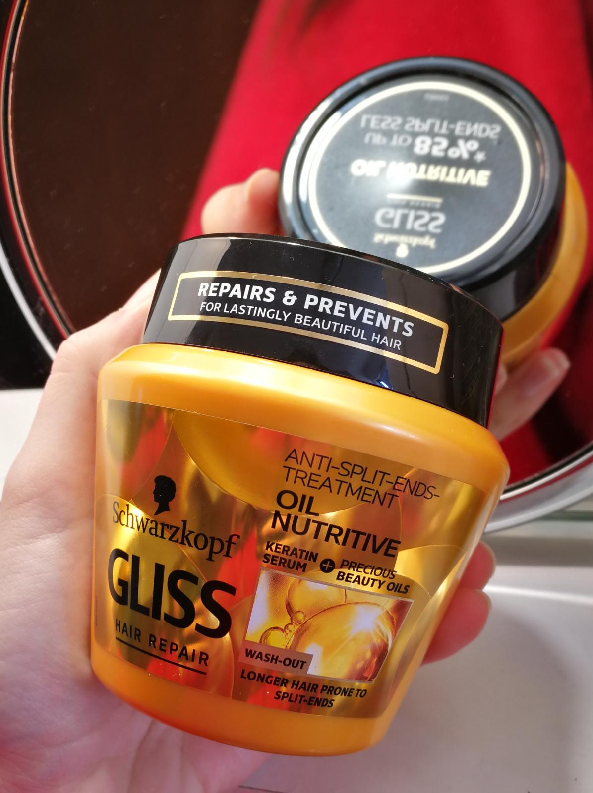 Schwarzkopf maska za kosu recenzija: Schwarzkopf Gliss Oil Nutritive recenzija