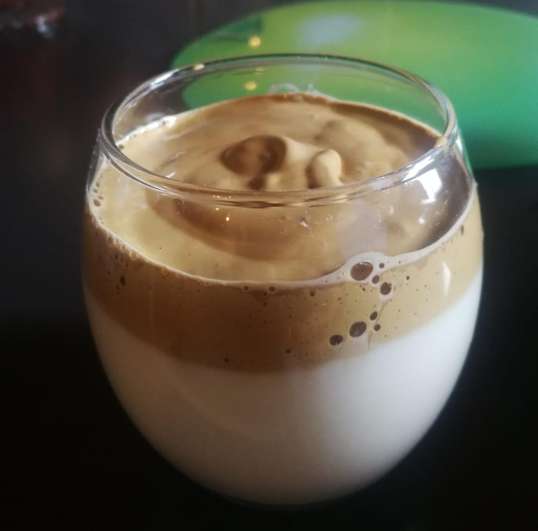 Dalgona kava recept