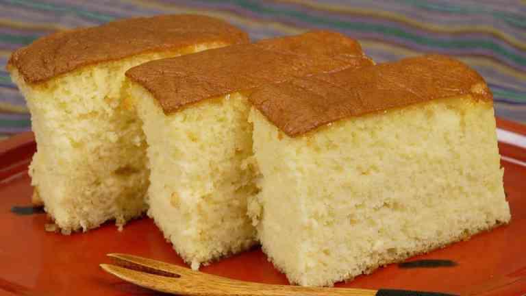 Castella torta recept
