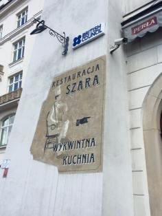 Szara Restaurant on the main market square