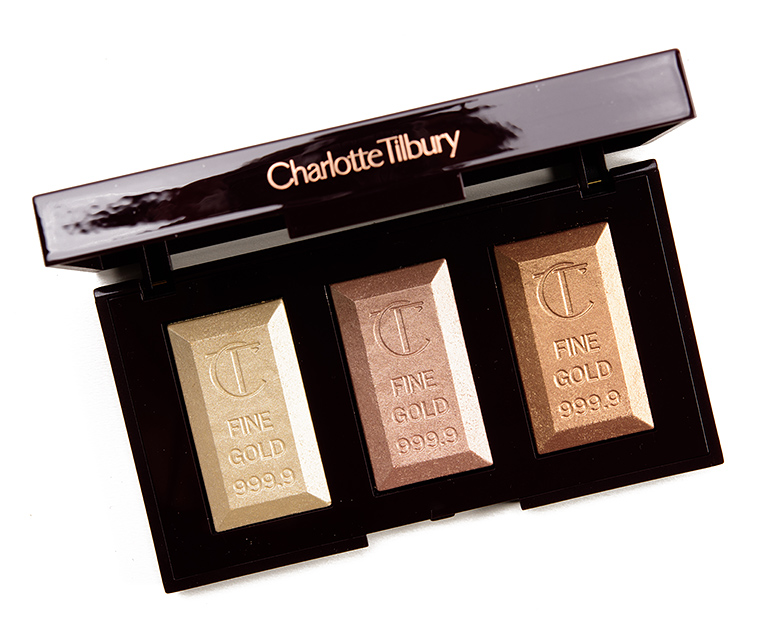Charlotte Tilbury's Bar of Gold Highlighter Palette