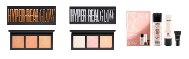 New Makeup!  MAC Cosmetics Hyper Real Glow & Prep Set