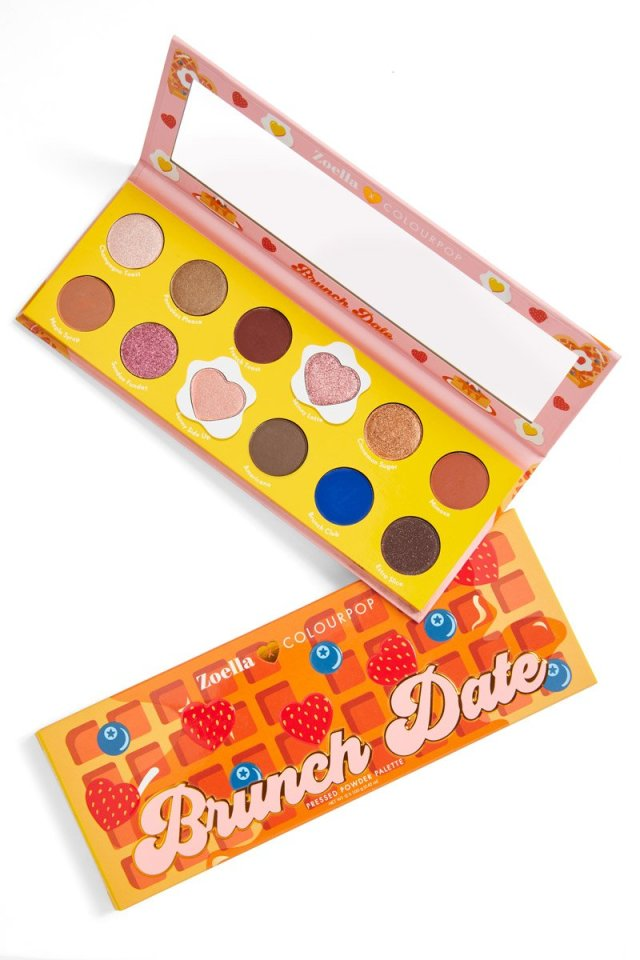 ColourPop x Zoella Brunch Date Collection