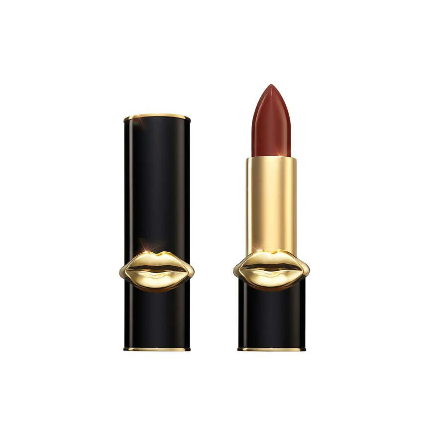 Get The Dupe! Pat McGrath Dark Burgundy Luxetrance Lipstick 35MM Colorpop Maybelline