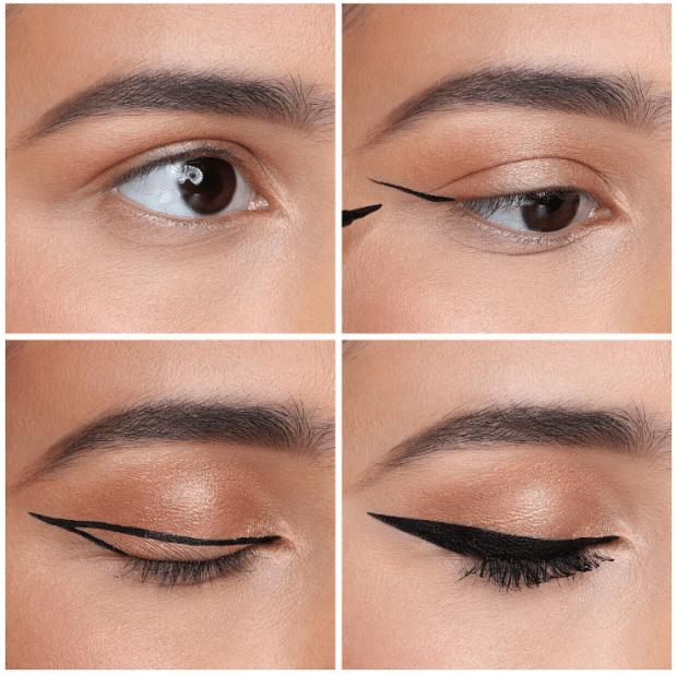 Huda Beauty Life Liner Duo Eyeliner Tutorial Look