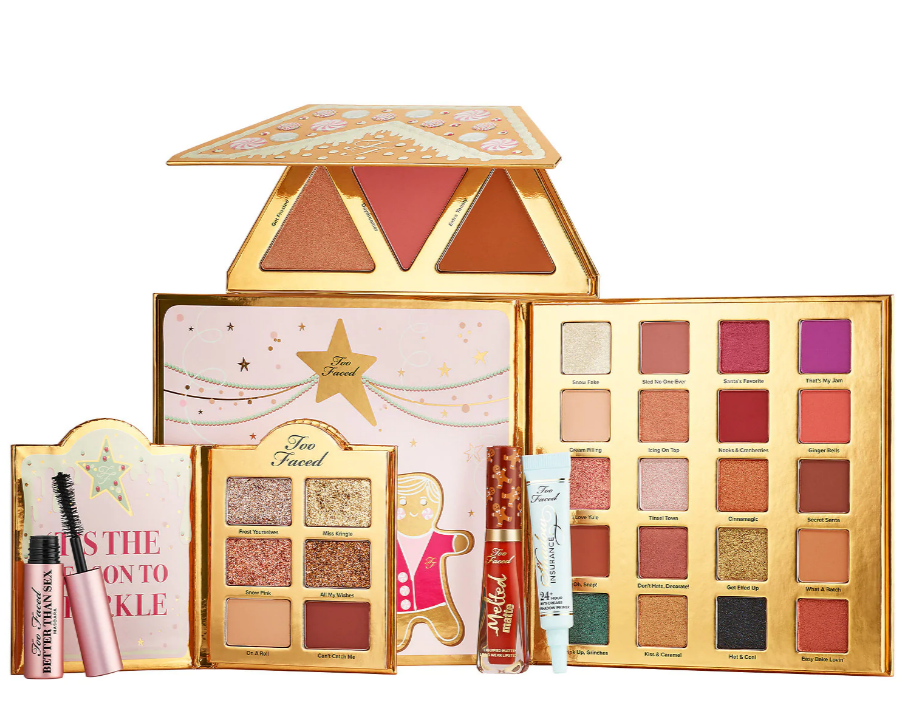 Too Faced Christmas Cookie House Party Collection