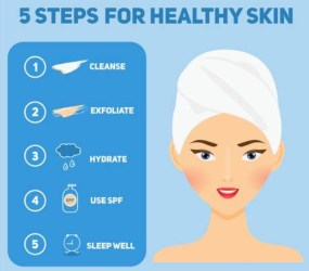 5 Tips For Healthy Skincare