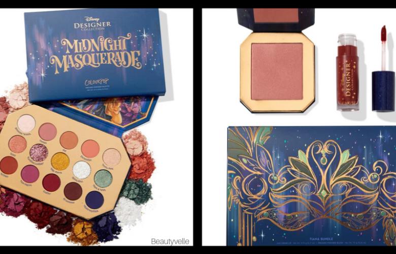 Colourpop Disney Designer Midnight Masquerade Collection