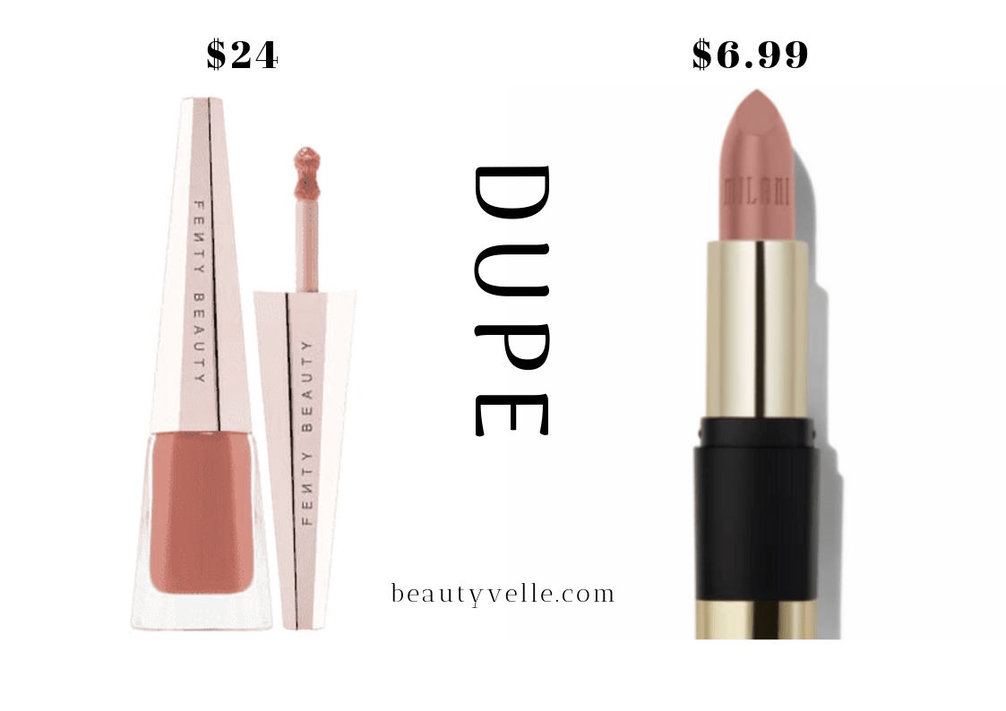 Get The Dupe!  Fenty Beauty Stunna Lip Paint Unbutton