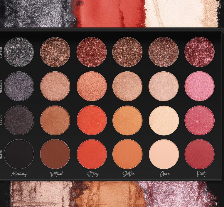 Tati Beauty Textured Neutrals Eyeshadow Palette