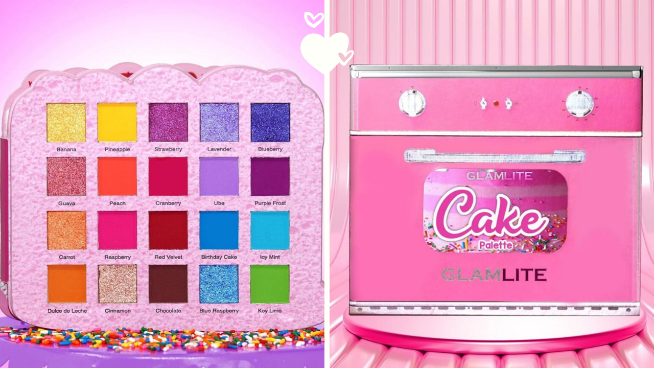 New Makeup! Glamlite Cake Eyeshadow Palette
