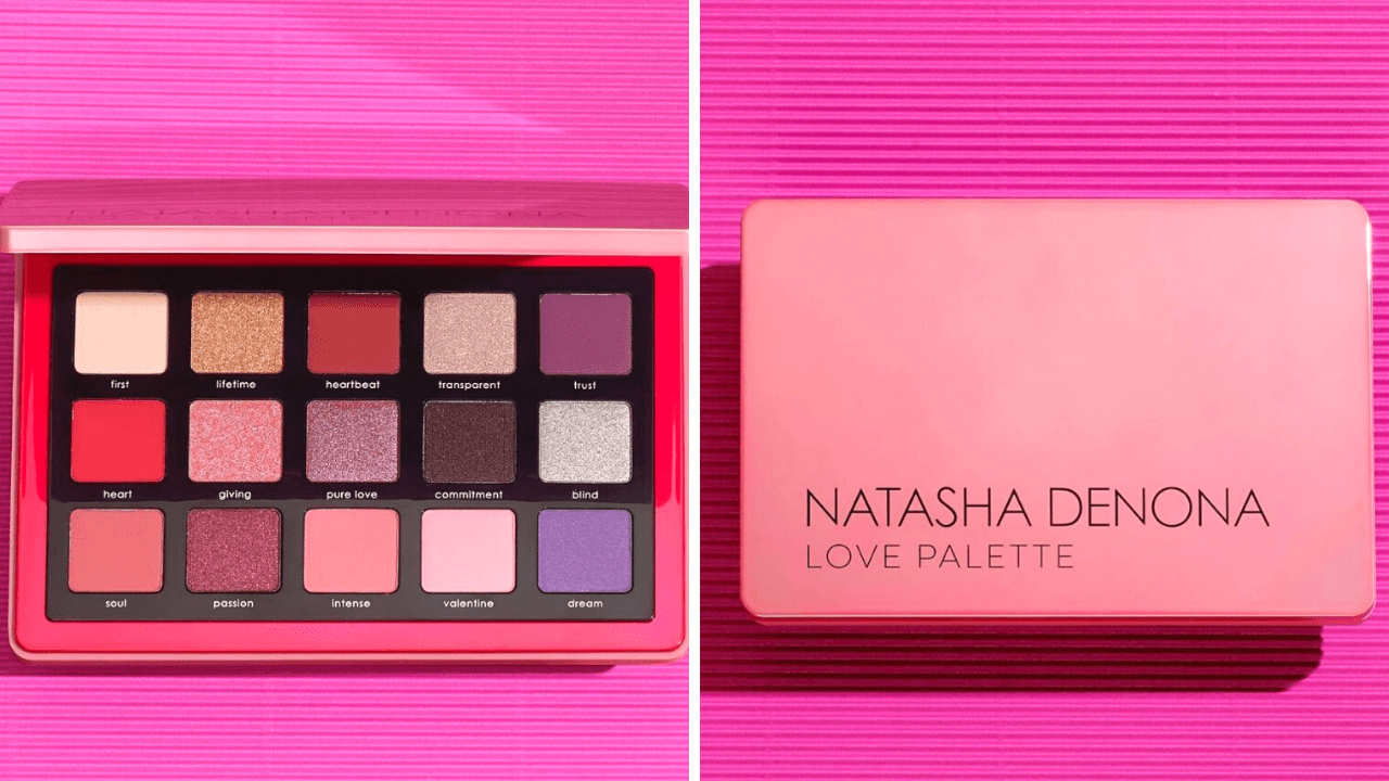 New! Natasha Denona Love Eyeshadow Palette
