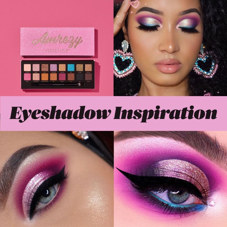 Get Inspired By These Stunning Eyeshadow Looks Featuring Anastasia Beverly Hills Amrezy Palette