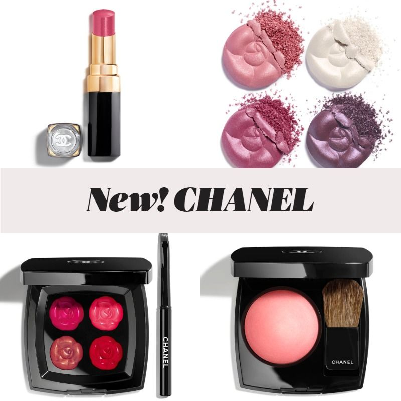 New! CHANEL La Fleur et L'Eau Spring 2020 Collection