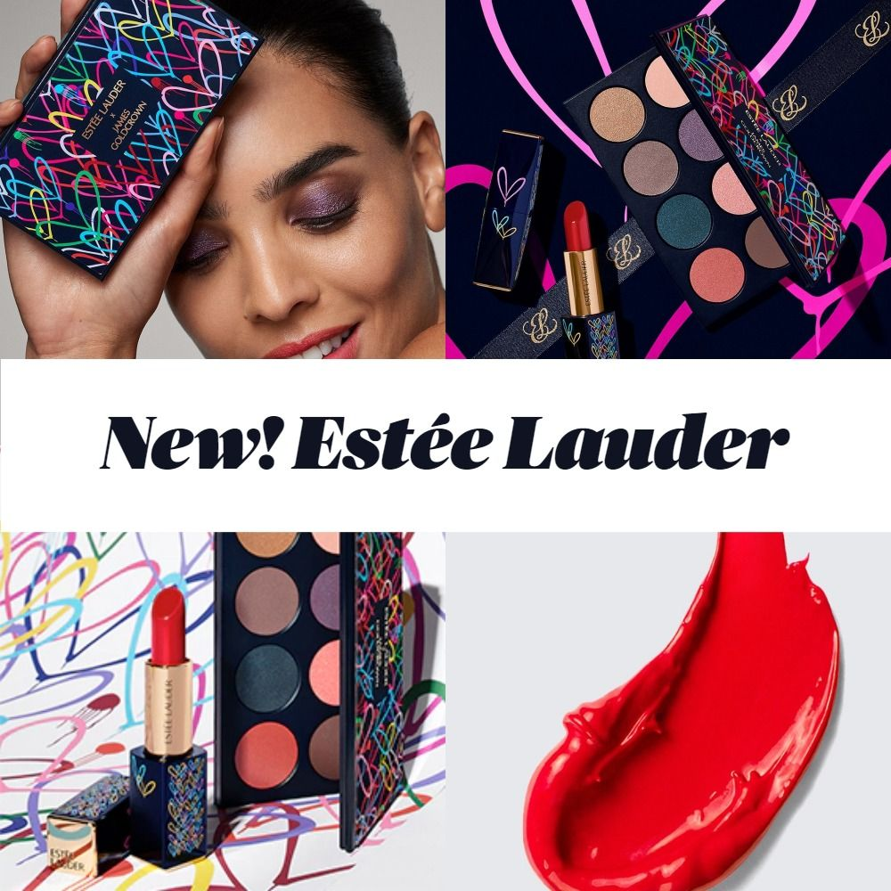 New Makeup! Estée Lauder x James Goldcrown Love Colorfully Collection