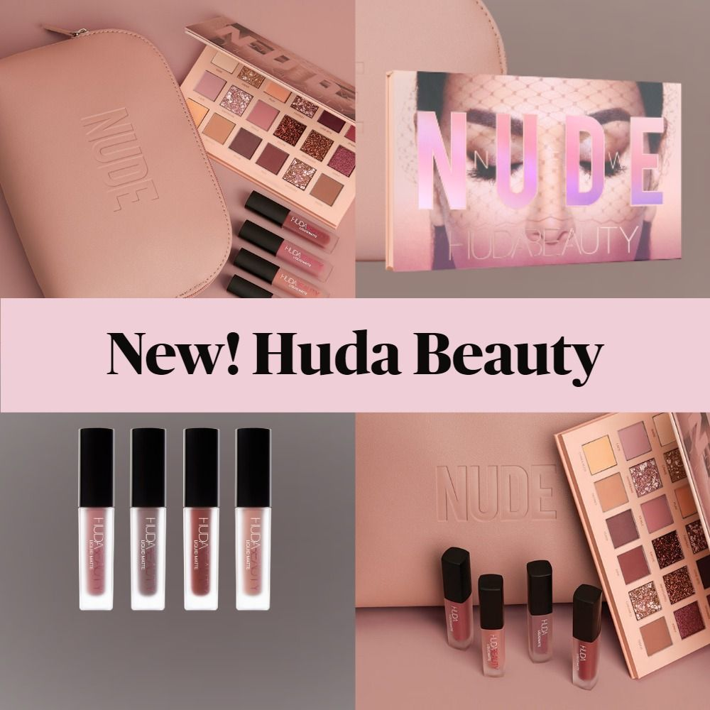 New Makeup! Huda Beauty New Nude Kit