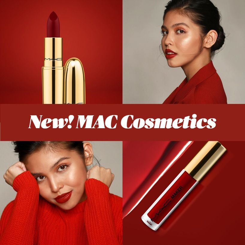 Coming Soon! MAC x Maine Mendoza MACMaker 2020