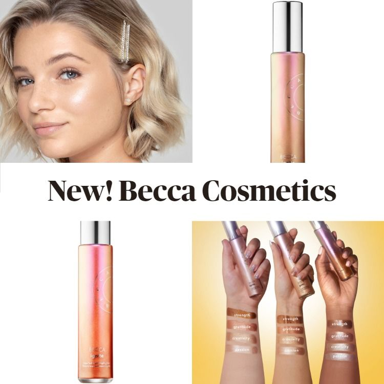Get The Scoop On The New Becca Ignite Liquified Light Highlighter