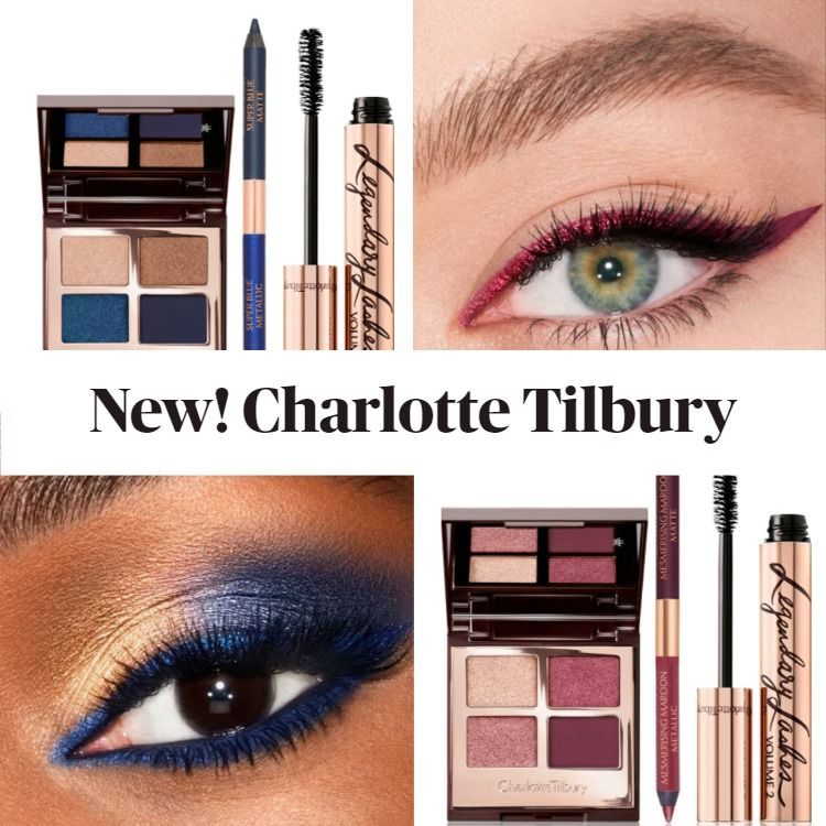 New! Charlotte Tilbury Eye Colour Magic Trick Kits