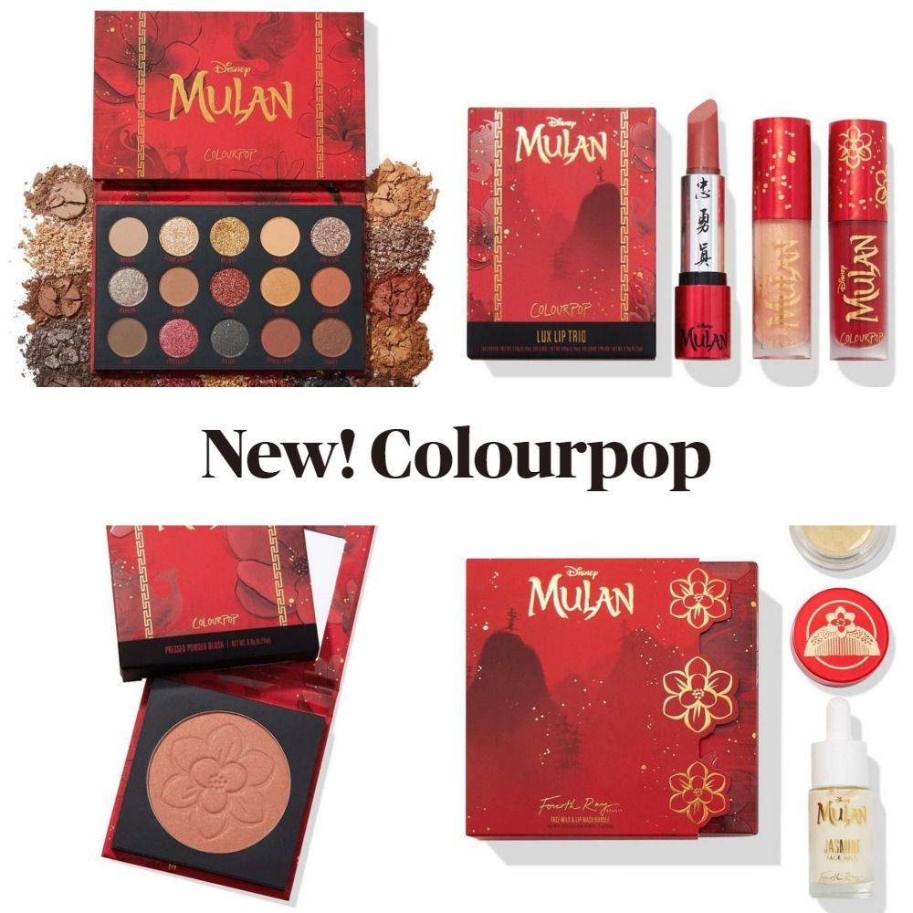 Coming Soon! Colourpop x Disney Mulan Collection