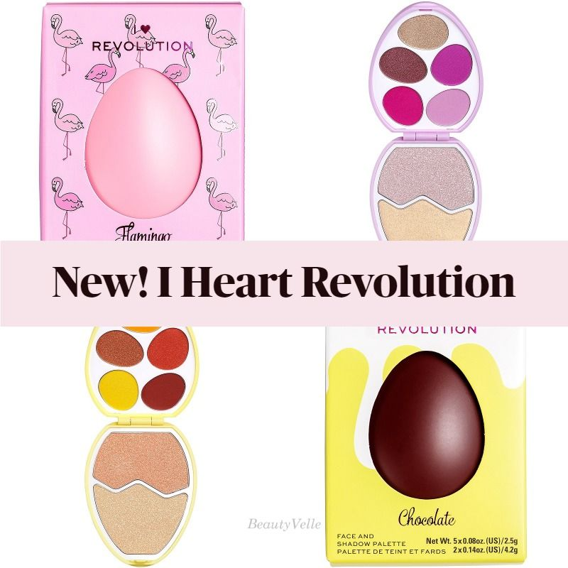 I Heart Revolution Easter Egg Face And Shadow Palettes